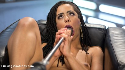 Photo number 6 from Brand New and Ready to Fuck shot for Fucking Machines on Kink.com. Featuring Kira Noir in hardcore BDSM & Fetish porn.