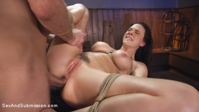 Photo number 10 from Blind Date Leads To Anal Domination shot for Sex And Submission on Kink.com. Featuring Chanel Preston and Bill Bailey in hardcore BDSM & Fetish porn.