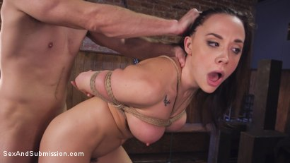 Photo number 12 from Blind Date Leads To Anal Domination shot for Sex And Submission on Kink.com. Featuring Chanel Preston and Bill Bailey in hardcore BDSM & Fetish porn.