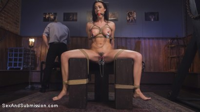 Photo number 3 from Blind Date Leads To Anal Domination shot for Sex And Submission on Kink.com. Featuring Chanel Preston and Bill Bailey in hardcore BDSM & Fetish porn.