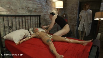 Photo number 21 from Dollification 201: Making Marionettes & Human Love Dolls  shot for Kink University on Kink.com. Featuring Jessica Creepshow and Danarama in hardcore BDSM & Fetish porn.