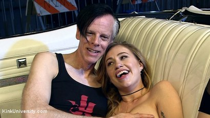 Photo number 21 from Sex on Wheels: How to Fuck in Cars shot for Kink University on Kink.com. Featuring Lyra Law and Danarama in hardcore BDSM & Fetish porn.