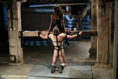 Photo number 9 from Stacey Cash and Elliot Skellington shot for Men In Pain on Kink.com. Featuring Stacey Cash and Elliot Skellington in hardcore BDSM & Fetish porn.