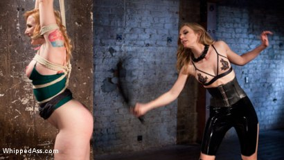 Photo number 3 from Property of Mona Wales: Horny Pain Slut Sophia Locke Submits! shot for Whipped Ass on Kink.com. Featuring Mona Wales and Sophia Locke in hardcore BDSM & Fetish porn.