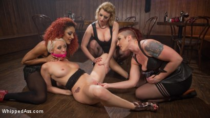 Photo number 7 from Dyke Bar 2: Lorelei Lee Devoured by Hot Horny Lesbians! shot for Whipped Ass on Kink.com. Featuring Daisy Ducati, Mistress Kara, Lorelei Lee and Cherry Torn in hardcore BDSM & Fetish porn.