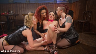 Photo number 11 from Dyke Bar 2: Lorelei Lee Devoured by Hot Horny Lesbians! shot for Whipped Ass on Kink.com. Featuring Daisy Ducati, Mistress Kara, Lorelei Lee and Cherry Torn in hardcore BDSM & Fetish porn.