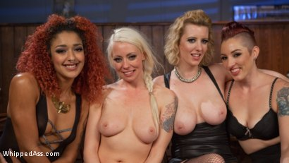 Photo number 21 from Dyke Bar 2: Lorelei Lee Devoured by Hot Horny Lesbians! shot for Whipped Ass on Kink.com. Featuring Daisy Ducati, Mistress Kara, Lorelei Lee and Cherry Torn in hardcore BDSM & Fetish porn.