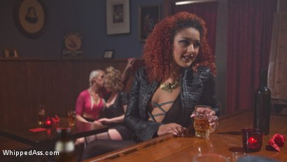 Photo number 3 from Dyke Bar 2: Lorelei Lee Devoured by Hot Horny Lesbians! shot for Whipped Ass on Kink.com. Featuring Daisy Ducati, Mistress Kara, Lorelei Lee and Cherry Torn in hardcore BDSM & Fetish porn.