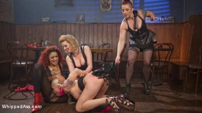 Photo number 8 from Dyke Bar 2: Lorelei Lee Devoured by Hot Horny Lesbians! shot for Whipped Ass on Kink.com. Featuring Daisy Ducati, Mistress Kara, Lorelei Lee and Cherry Torn in hardcore BDSM & Fetish porn.