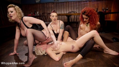 Photo number 19 from Dyke Bar 2: Lorelei Lee Devoured by Hot Horny Lesbians! shot for Whipped Ass on Kink.com. Featuring Daisy Ducati, Mistress Kara, Lorelei Lee and Cherry Torn in hardcore BDSM & Fetish porn.