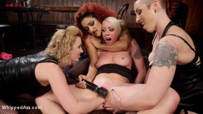 Photo number 22 from Dyke Bar 2: Lorelei Lee Devoured by Hot Horny Lesbians! shot for Whipped Ass on Kink.com. Featuring Daisy Ducati, Mistress Kara, Lorelei Lee and Cherry Torn in hardcore BDSM & Fetish porn.
