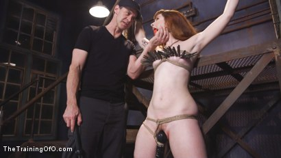 Photo number 5 from Training Barbary Rose: Orgasm Denial shot for The Training Of O on Kink.com. Featuring Rob Carpenter and Barbary Rose in hardcore BDSM & Fetish porn.