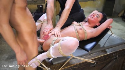 Photo number 7 from Anal Training Amara Romani shot for The Training Of O on Kink.com. Featuring Amara Romani and Seth Gamble in hardcore BDSM & Fetish porn.