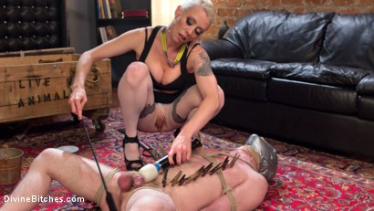 Photo number 7 from Slave in Heaven Part 3: New York shot for Divine Bitches on Kink.com. Featuring Slave Fluffy and Lorelei Lee in hardcore BDSM & Fetish porn.