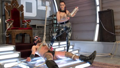 Photo number 3 from Deep Space Domination: the Future is Female shot for Divine Bitches on Kink.com. Featuring Bella Rossi and DJ in hardcore BDSM & Fetish porn.