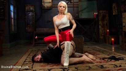 Photo number 6 from Masculinity-Training with Mistress Lorelei Lee shot for Divine Bitches on Kink.com. Featuring Lorelei Lee and Ryan Patrix in hardcore BDSM & Fetish porn.