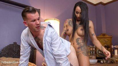 Photo number 19 from Honey Foxx Fucks The Shame Out of Closet Pervert! shot for TS Seduction on Kink.com. Featuring Will Havoc and Honey FoXXX in hardcore BDSM & Fetish porn.