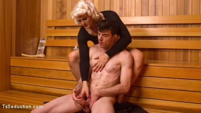 Photo number 2 from TS STARLET DEBUT: Isabella Sorrenti Massages More Than Just Muscles shot for TS Seduction on Kink.com. Featuring Isabella Sorrenti and Artemis Faux in hardcore BDSM & Fetish porn.