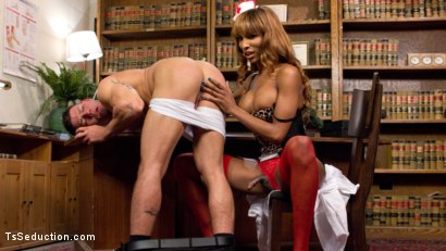 Photo number 17 from Nurse Natassia Takes Down the Patriarchy shot for TS Seduction on Kink.com. Featuring Natassia Dreams and Reed Jameson in hardcore BDSM & Fetish porn.