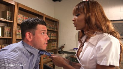 Photo number 20 from Nurse Natassia Takes Down the Patriarchy shot for TS Seduction on Kink.com. Featuring Natassia Dreams and Reed Jameson in hardcore BDSM & Fetish porn.