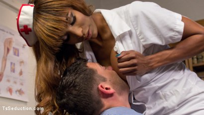 Photo number 21 from Nurse Natassia Takes Down the Patriarchy shot for TS Seduction on Kink.com. Featuring Natassia Dreams and Reed Jameson in hardcore BDSM & Fetish porn.