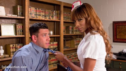 Photo number 1 from Nurse Natassia Takes Down the Patriarchy shot for TS Seduction on Kink.com. Featuring Natassia Dreams and Reed Jameson in hardcore BDSM & Fetish porn.