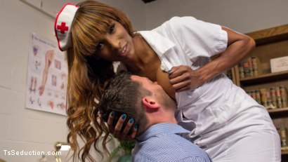 Photo number 2 from Nurse Natassia Takes Down the Patriarchy shot for TS Seduction on Kink.com. Featuring Natassia Dreams and Reed Jameson in hardcore BDSM & Fetish porn.