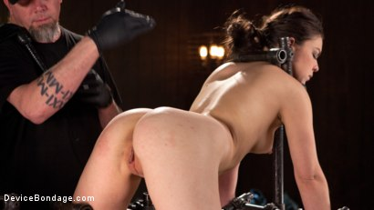 Photo number 10 from More Than She Can Handle shot for devicebondage on Kink.com. Featuring Juliette March and The Pope in hardcore BDSM & Fetish porn.
