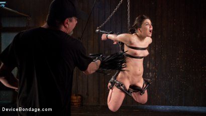 Photo number 15 from More Than She Can Handle shot for devicebondage on Kink.com. Featuring Juliette March and The Pope in hardcore BDSM & Fetish porn.