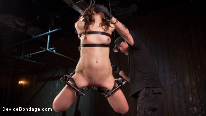 Photo number 6 from More Than She Can Handle shot for devicebondage on Kink.com. Featuring Juliette March and The Pope in hardcore BDSM & Fetish porn.