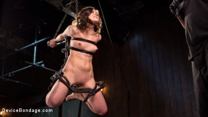 Photo number 7 from More Than She Can Handle shot for devicebondage on Kink.com. Featuring Juliette March and The Pope in hardcore BDSM & Fetish porn.