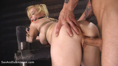 Photo number 8 from Fucking My Hot Boss in the Ass shot for Sex And Submission on Kink.com. Featuring Mr. Pete and Nikki Delano in hardcore BDSM & Fetish porn.