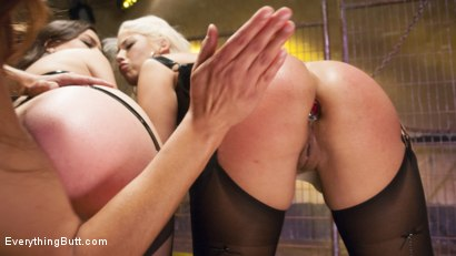 Photo number 1 from Big Booty Latina pushes her Anal Boundaries for Everything Butt Fans shot for everythingbutt on Kink.com. Featuring Francesca Le, Juliette March and Bridgette B in hardcore BDSM & Fetish porn.