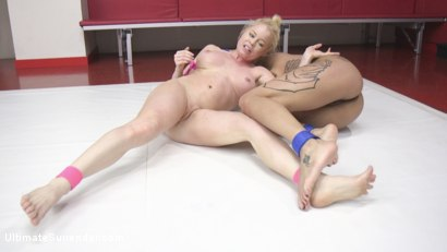 Photo number 6 from Good things come in small Packages. Rookie Cup feather weight bout shot for Ultimate Surrender on Kink.com. Featuring Nikki Delano and Jessica Creepshow in hardcore BDSM & Fetish porn.