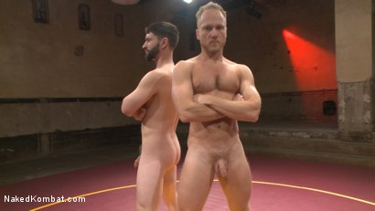 Photo number 2 from Chris Burke Goes Balls to the Wall with Jackson Fillmore shot for Naked Kombat on Kink.com. Featuring Jackson Fillmore and Chris Burke in hardcore BDSM & Fetish porn.