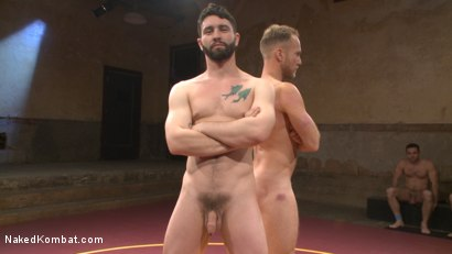 Photo number 1 from Chris Burke Goes Balls to the Wall with Jackson Fillmore shot for Naked Kombat on Kink.com. Featuring Jackson Fillmore and Chris Burke in hardcore BDSM & Fetish porn.