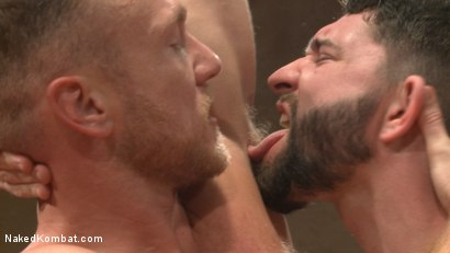 Photo number 7 from Chris Burke Goes Balls to the Wall with Jackson Fillmore shot for Naked Kombat on Kink.com. Featuring Jackson Fillmore and Chris Burke in hardcore BDSM & Fetish porn.