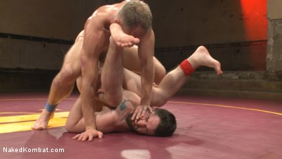 Photo number 10 from Chris Burke Goes Balls to the Wall with Jackson Fillmore shot for Naked Kombat on Kink.com. Featuring Jackson Fillmore and Chris Burke in hardcore BDSM & Fetish porn.