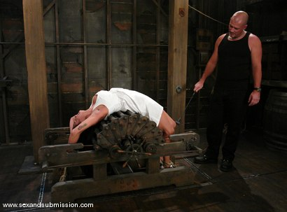 Photo number 2 from Mark Davis and Nadia Styles shot for Sex And Submission on Kink.com. Featuring Nadia Styles and Mark Davis in hardcore BDSM & Fetish porn.