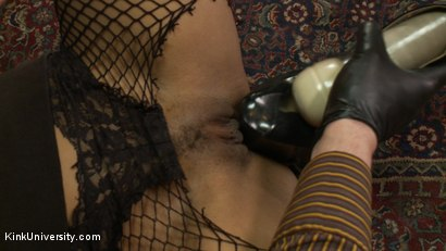 Photo number 13 from Using Clothing for Spontaneous Bondage & Play shot for Kink University on Kink.com. Featuring Nikki Darling and Lee Harrington in hardcore BDSM & Fetish porn.