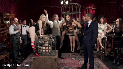 Photo number 14 from Caged Slut Puppy Slaves  shot for The Upper Floor on Kink.com. Featuring Rikki Rumor, Aiden Starr, Kacie Castle and Mickey Mod in hardcore BDSM & Fetish porn.