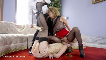 Photo number 15 from Spoiled Sex Slave Broken & Fucked  shot for The Upper Floor on Kink.com. Featuring Samantha Hayes, Tommy Pistol and Cherry Torn in hardcore BDSM & Fetish porn.