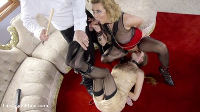 Photo number 17 from Spoiled Sex Slave Broken & Fucked  shot for The Upper Floor on Kink.com. Featuring Samantha Hayes, Tommy Pistol and Cherry Torn in hardcore BDSM & Fetish porn.