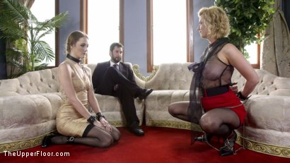 Photo number 19 from Spoiled Sex Slave Broken & Fucked  shot for The Upper Floor on Kink.com. Featuring Samantha Hayes, Tommy Pistol and Cherry Torn in hardcore BDSM & Fetish porn.