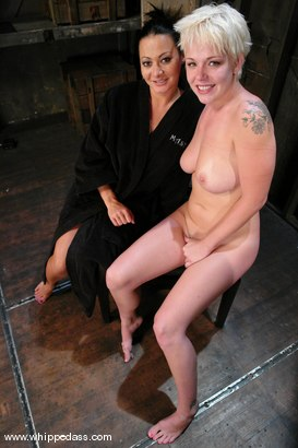 Photo number 15 from Missy Monroe and Sandra Romain shot for Whipped Ass on Kink.com. Featuring Sandra Romain and Missy Monroe in hardcore BDSM & Fetish porn.