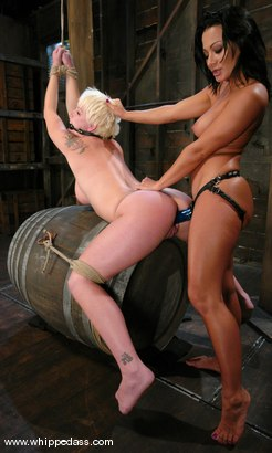 Photo number 8 from Missy Monroe and Sandra Romain shot for Whipped Ass on Kink.com. Featuring Sandra Romain and Missy Monroe in hardcore BDSM & Fetish porn.