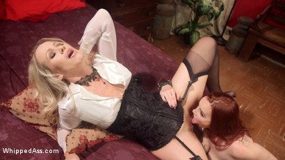 Photo number 20 from The Whore's Punishment shot for Whipped Ass on Kink.com. Featuring Simone Sonay and Bella Rossi in hardcore BDSM & Fetish porn.