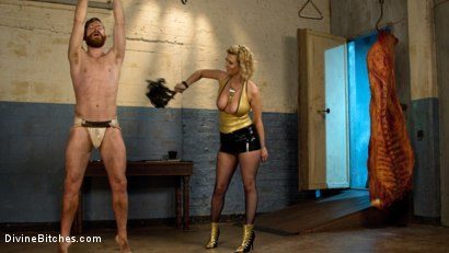 Photo number 15 from Pretty boy slave humiliated and pegged by Mistress Cherry Torn! shot for Divine Bitches on Kink.com. Featuring Cherry Torn and Sebastian Keys in hardcore BDSM & Fetish porn.