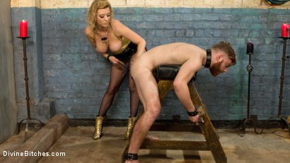 Photo number 13 from Pretty boy slave humiliated and pegged by Mistress Cherry Torn! shot for Divine Bitches on Kink.com. Featuring Cherry Torn and Sebastian Keys in hardcore BDSM & Fetish porn.