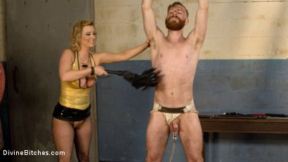 Photo number 1 from Pretty boy slave humiliated and pegged by Mistress Cherry Torn! shot for Divine Bitches on Kink.com. Featuring Cherry Torn and Sebastian Keys in hardcore BDSM & Fetish porn.